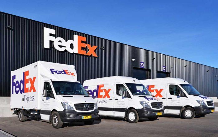 Furgonetas FedEx