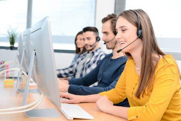 Servicio de atención telefónica