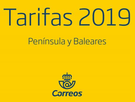 tarifas de Correos 2019